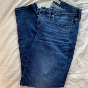 Madewell medium wash jeans